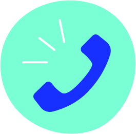 Phone calling icon